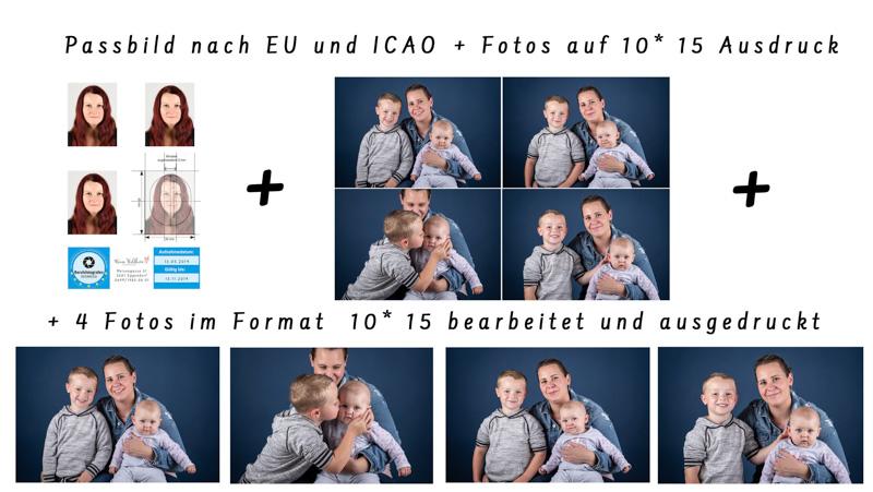 Passfoto nach EU und ICAO