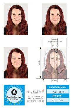 Passbilder biometrisch nach EU und ICAO