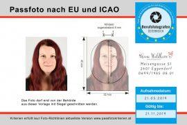 Passfoto biometrisch nach EU